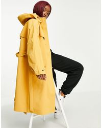 Nike Woven Trench Coat - Brown