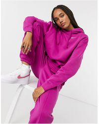 Nike - Hoodie oversize à petit logo virgule - Lyst