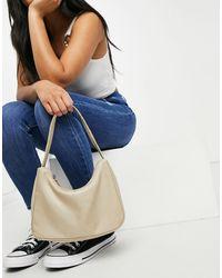 Monki Hilma Recycled Shoulder Bag - Natural
