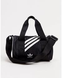 adidas Originals Черная Небольшая Сумка Дафл -черный