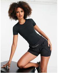 Champion Shorts deportivos s con logo - Negro