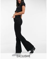 Reclaimed (vintage) - Inspired 79 Super Stretch Flare Jean - Lyst