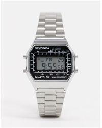Sekonda Серебристые Цифровые Часы -серебристый - Многоцветный