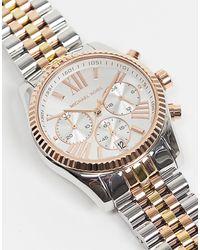 Michael Kors MK5735 Lexington - Orologio con bracciale - Metallizzato