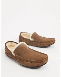 BOSS by Hugo Boss Pantofole comode stile mocassino - Marrone