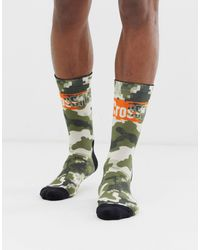 Reebok Crossfit - Chaussettes camouflage à logo - Vert