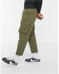Another Influence Co-ord Utility Cargo Trousers - Green