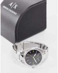 Armani Exchange Мужские Серебристые Часы-браслет Из Нержавеющей Стали Ax2856-серебристый - Металлик