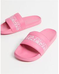 Napapijri Sliders - Pink