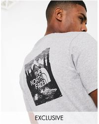 The North Face Red Box Celebration - T-shirt - Grijs