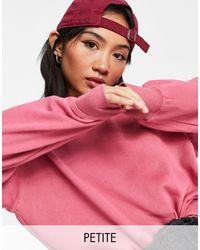 New Look Розовый Свитшот С Эффектом Кислотной Стирки (от Комплекта) -розовый Цвет
