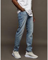 TOPMAN Straight Jeans - Blue