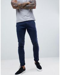 Esprit Skinny Fit Chino - Blue