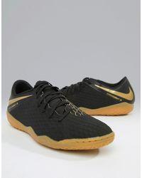 Nike Football Nike - Hypervenom Phantomx 3 - Chaussures de football en salle - AJ3814-090 - Noir