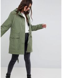 ASOS - Summer Parka With Jersey Lining - Lyst