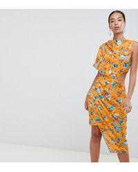 ASOS - Asos Design Tall Midi Dress - Lyst