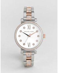 d33cd769d819 Michael Kors Mk6560 Sofie Bracelet Watch In Rose Gold 39mm in ...