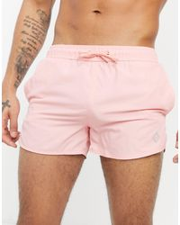 Bershka Swim Shorts - Pink