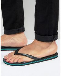 Billabong - Method Flip Flops - Lyst