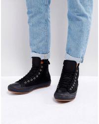 9cb1feeeb1 Converse - Chuck Taylor All Star Wp Sneaker Boots In Black 157460c001 - Lyst
