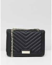 Lipsy - Quilted Multiway Cross Body In Black - Lyst