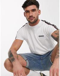 Lambretta Taped T-shirt - White