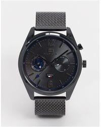 Tommy Hilfiger Черные Часы Deacan-черный