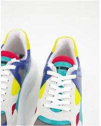 Love Moschino - Разноцветные Кроссовки На Массивной Подошве -многоцветный - Lyst
