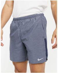 Nike – Challenger – Shorts - Blau