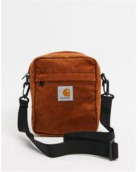 Carhartt WIP Темно-оранжевая Маленькая Вельветовая Сумка -оранжевый