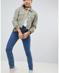 Weekday - Way High Waist Skinny Jeans - Lyst