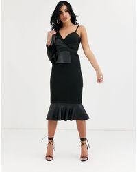 ASOS Animal Print Soft Wool Coat - Black