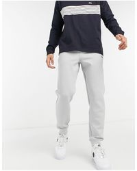 Lacoste Motion Stretch Cotton Trackpants - Gray