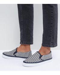 ASOS - Design Dab Stripe Sneakers - Lyst