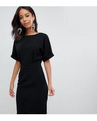 ASOS - Asos Design Tall wiggle Mini Dress - Lyst