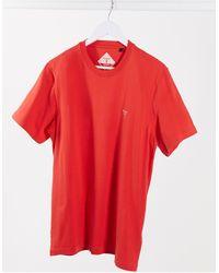 Barbour Красная Футболка С Маленьким Логотипом -красный