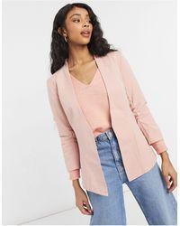 Vila Fitted Blazer - Pink