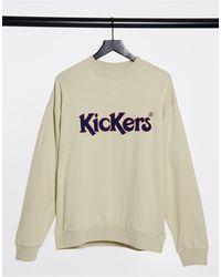 Kickers Logo Sweatshirt - White