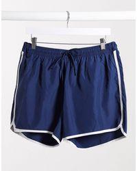 Weekday Tan Swim Shorts - Blue