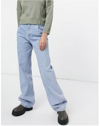 Pull&Bear Dad Jeans - Blue