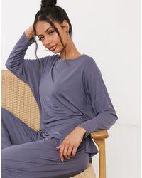 Calvin Klein – Loungewear – Pyjamahose - Grau