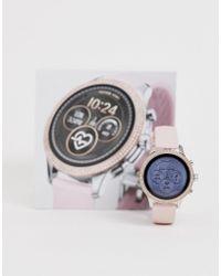Michael Kors Mk8599 Grayson Bracelet Watch In Gold 44mm In Metallic