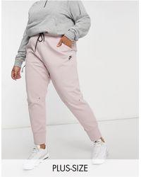 Nike - Светло-розовые Джоггеры Plus Tech Fleece-розовый Цвет - Lyst