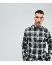 SELECTED - Slim Fit Check Shirt - Lyst