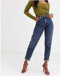 TOPSHOP Mom Jeans - Blauw