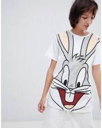 ASOS - T-shirt With Bugs Bunny Print - Lyst