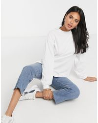 ASOS Oversized Long-sleeved T-shirt With Cuff Detail - Multicolour
