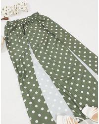 ASOS Maxi Beach Skirt Co-ord - Green