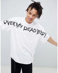 Cheap Monday - Omdb Logo T-shirt - Lyst