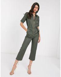 Closet Closet Boiler Suit - Green
